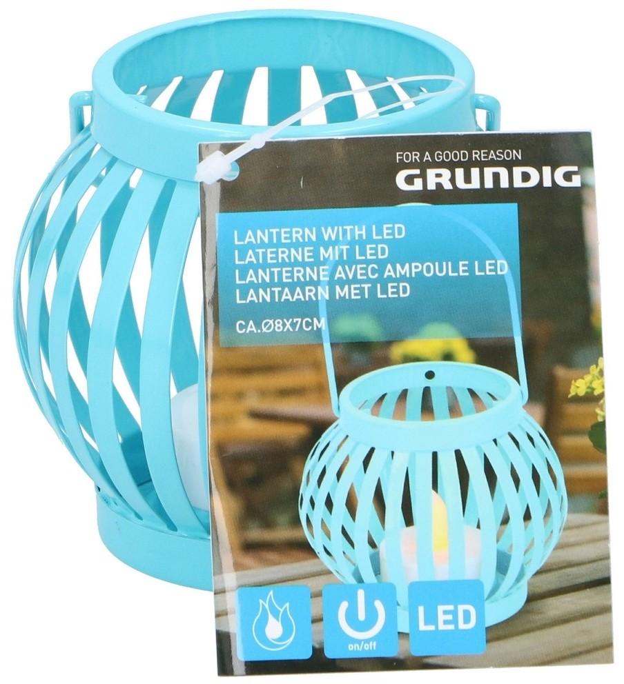 Grundig Grundig - LED Latarnia LED/1xCR2032 niebieski