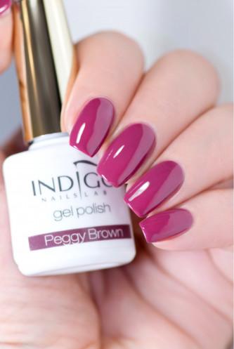 Indigo Indigo Peggy Brown Gel Polish 7ml INDI323