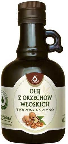 Oleofarm Olej z orzechów włoskich tłoczony na zimno - 250ml 01278