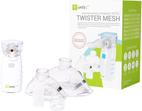 Intec Mesh NE - 105 inhalator podróżny membranowy + PREZENT Enova30839