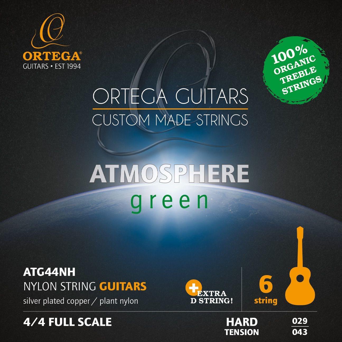 Ortega Ortega ATG44NH - struny do gitary klasycznej