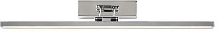 Lucide lucide erwan-lampa ścienna LED-1X 12W 3000K-IP21, metalowe, zintegrowana, 12W, chrom, 57x 19x 18.5cm 48203/12/11