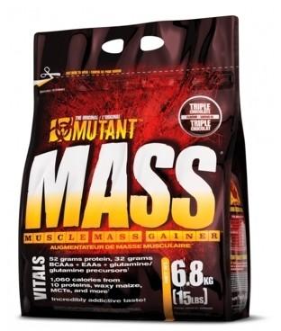 Mutant Mass - 6800g - Strawberry Banana