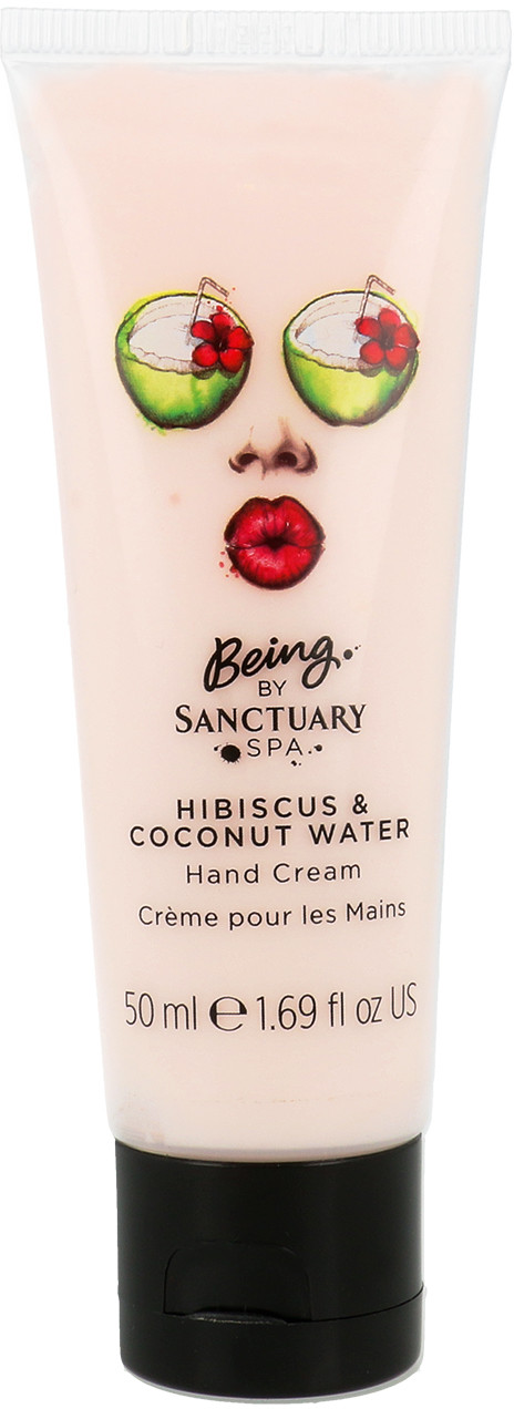 SANCTUARY Spa Covent Garden Spa Hand Cream Krem Do Rąk Hibiskus I Woda Kokosowa 50ml
