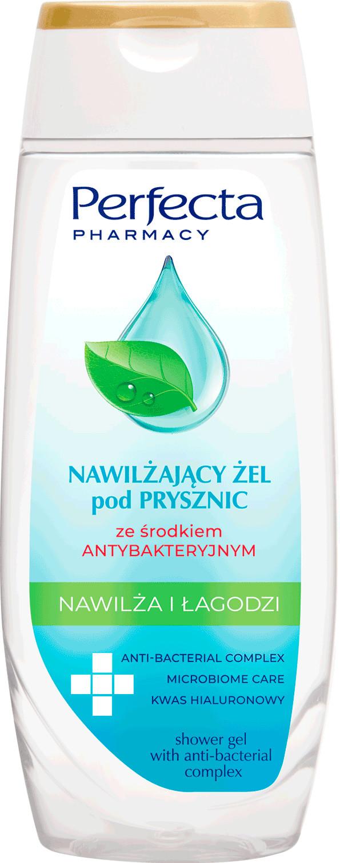 Perfecta Pharmacy Nawilżający żel pod prysznic ze środkiem antybakteryjnym 250ml