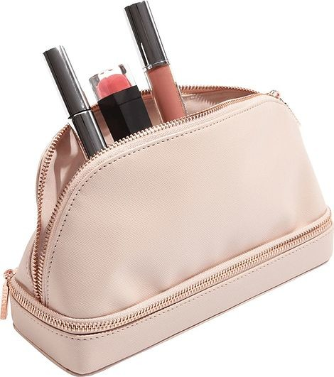 Stackers Kosmetyczka dwukomorowa Stackers blush pink 75385