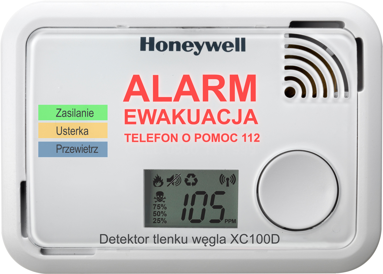 Honeywell Czujnik tlenku węgla CO XC100D-PL-APP 142212