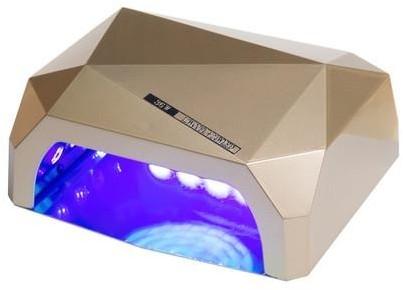 Beauty System Lampa LED 36W DIAMOND do paznokci BS-557 złota 1186