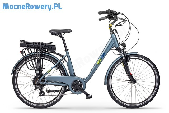 Ecobike Trafik blue 2020 niebieski 26 cali