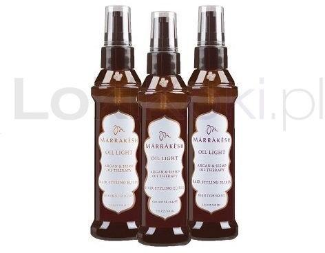 Elixir Marrakesh Oil Light Hair Styling olejek do włosów 60 ml Marrakesh 0240010
