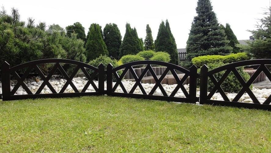 Vidaxl ogrodowy, 2,3 m brązowy