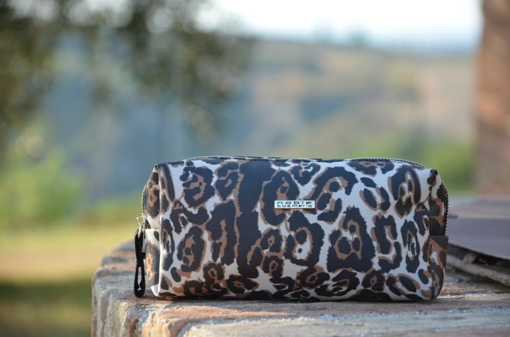 Noble Cosmetic Kosmetyczka Damska Noble Leopard LP002