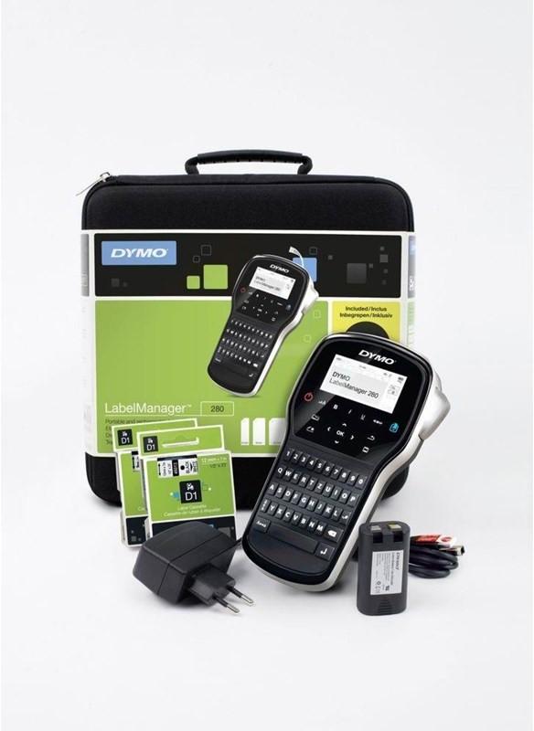 Dymo Labelmanager 280 kitcase Drukarka etykiet - Monochromatyczny - Transfer termiczny 2091152
