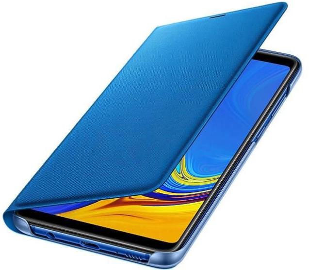 Samsung Wallet Cover do Galaxy A9 2018 Niebieski EF-WA920PLEGWW