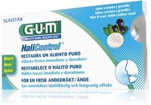 GUM GUM Halicontrol - do ssania przeciw nieświeżemu oddechowi z ust (halita), 10 szt 3060