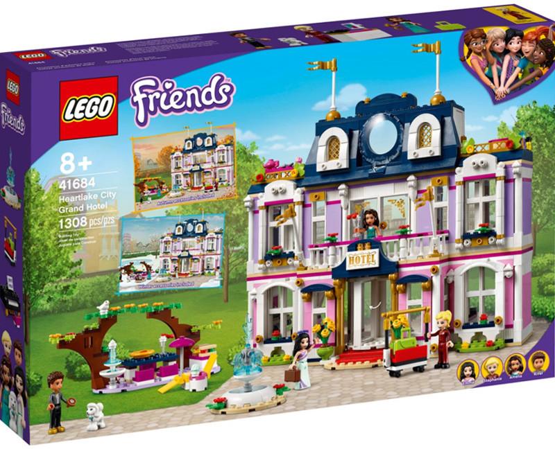 LEGO Friends Wielki hotel w mieście Heartlake 41684 41684