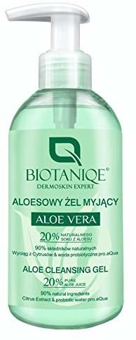 Biotaniqe Żel oczyszczający Aloe Vera, 250 ml