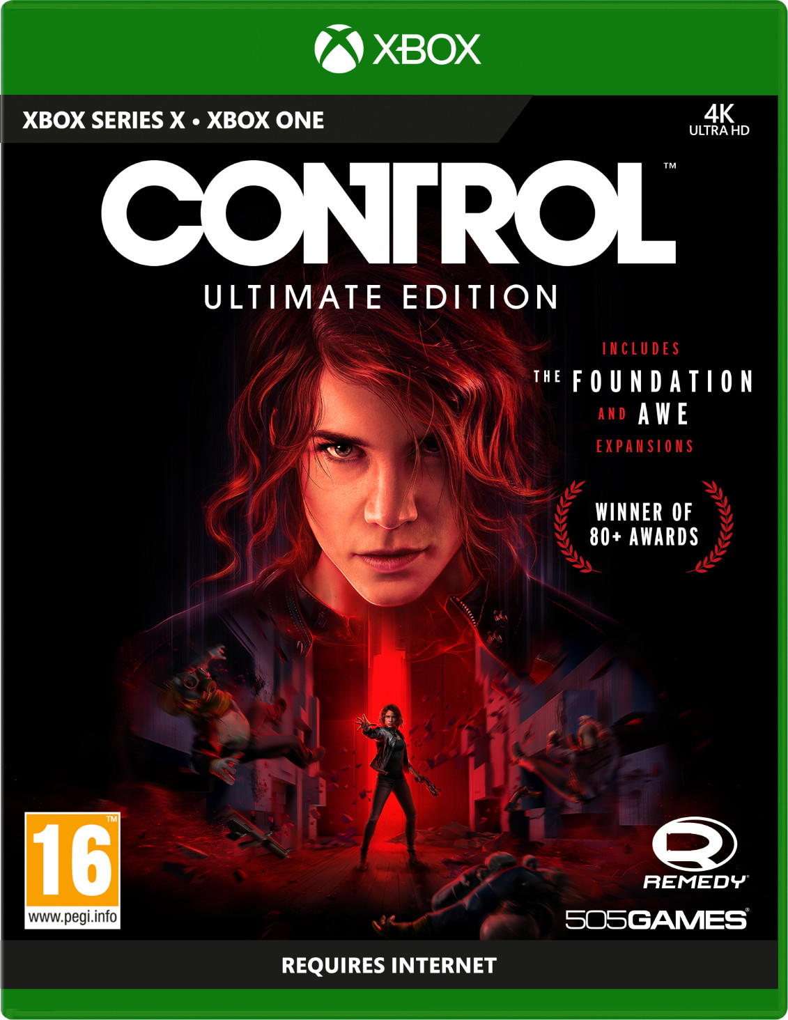 CONTROL Ultimate Edition (GRA XBOX ONE / XBOX SERIES X)