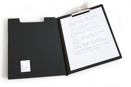 Durable Podkład do pisania Clipboard A4 czarny 2357-01