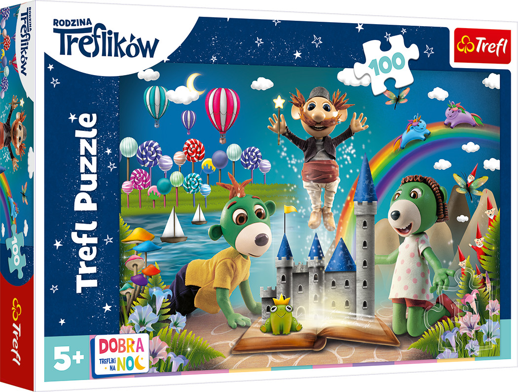 Trefl puzzle Bajkowy Wieczór z Treflikami