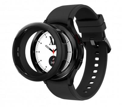 Spigen Liquid Air do Galaxy Watch 4 Classic czarny