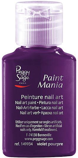 Peggy Sage Lakier nail art Paint mania violet pourpre 25ml - ( ref. 149934)