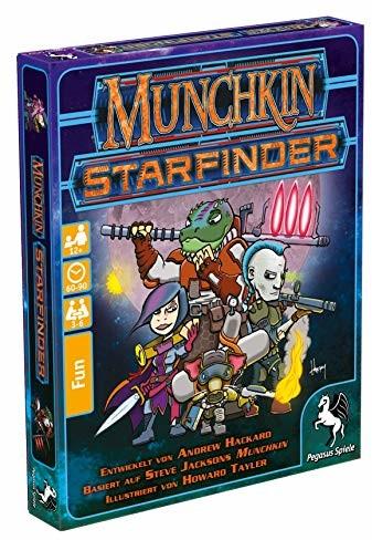 Pegasus Spiele Steve Jackson Munchkin Starfinder