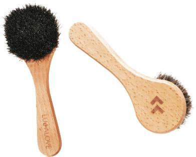 Lullalove Profesjonalna szczotka do twarzy i szyi  naturalne włosie Lullalove 1455-uniw