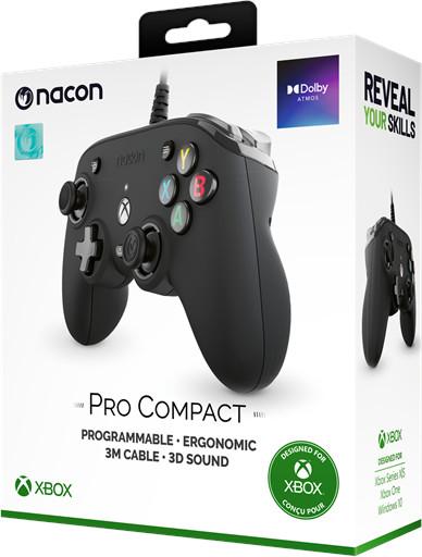 NACON Pro Compact Controller - Black