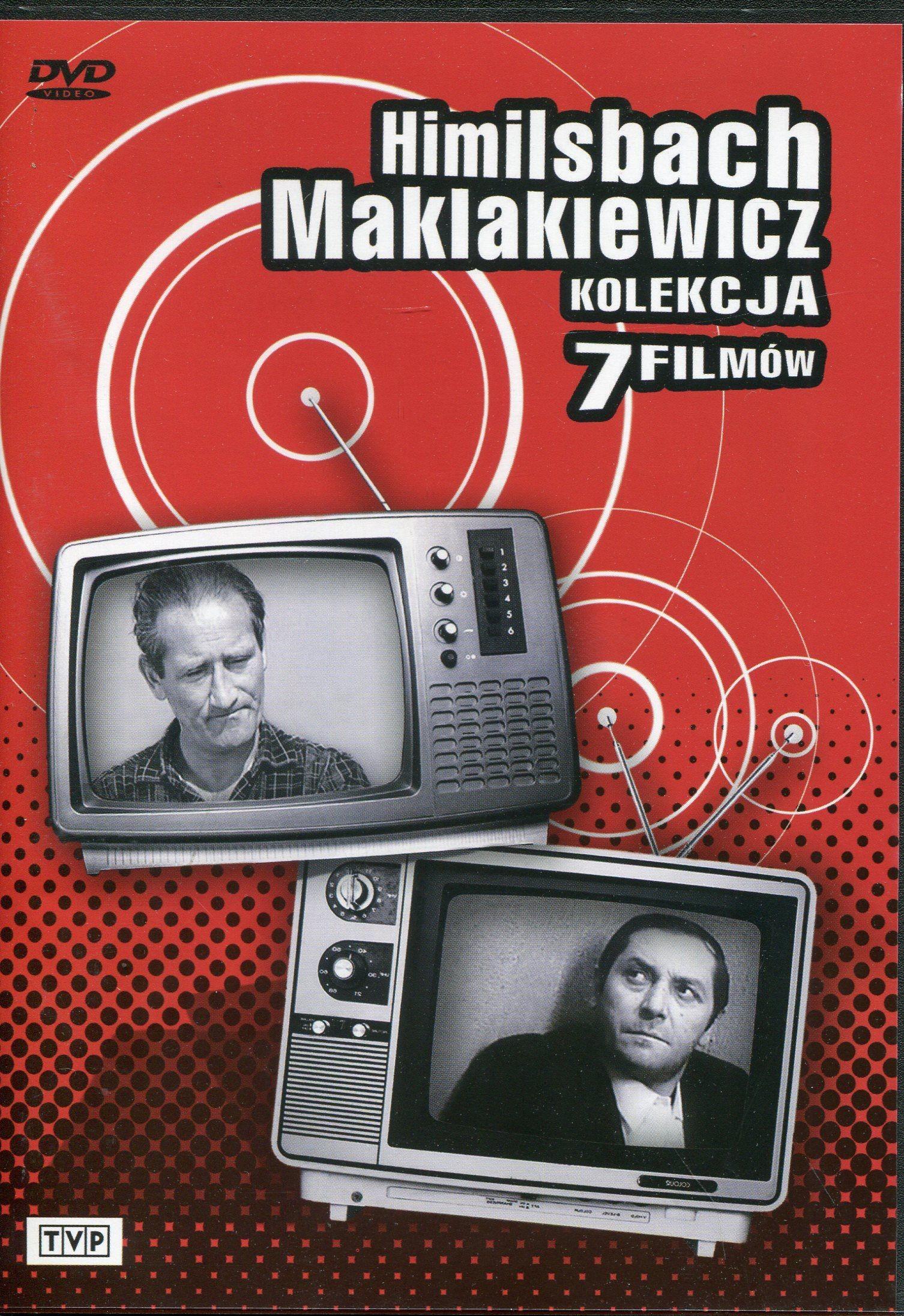Telewizja Polska Himilsbach Maklakiewicz Kolekcja 7 filmów DVD
