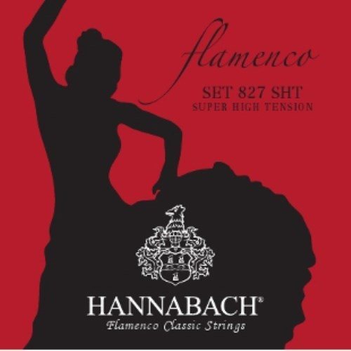 Hannabach Super HIG Tension Flamenco Classic 8277sht-częściowy Bass