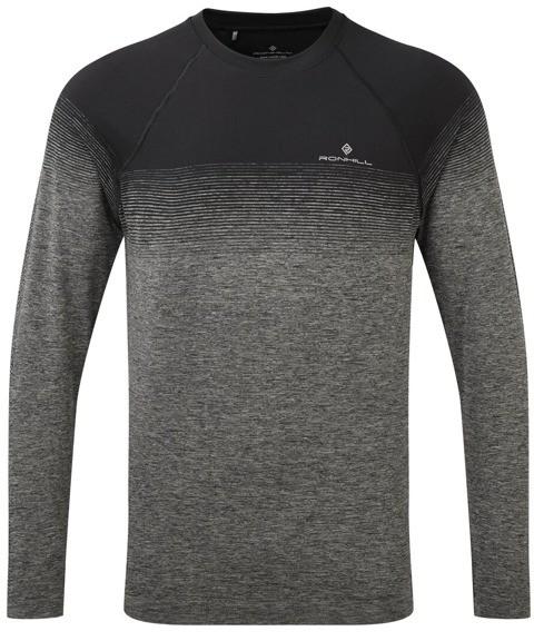 RONHILL RONHILL koszulka z długim rękawem do biegania INFINITY MARATHON L/S TEE szara