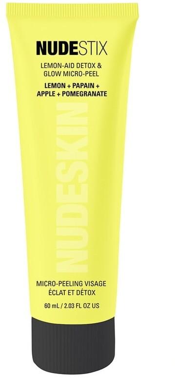 Nudestix Nudestix Pielęgnacja twarzy Nudeskin Lemon-Aid Detox & Glow Micro-Peel Oczyszczający peeling enzymatyczny z kwasem cytrynowym 60 ml