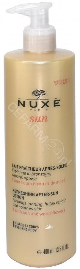 Nuxe Sun orzeźwiający balsam po opalaniu do twarzy i ciała 400 ml
