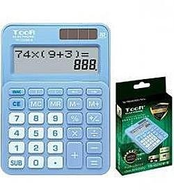 TOOR Kalkulator dwuliniowy 10-pozyc TR-1223DB-B