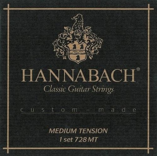 Hannabach 7287MT Custom Made, średni Tension,-częściowy Bass komplet