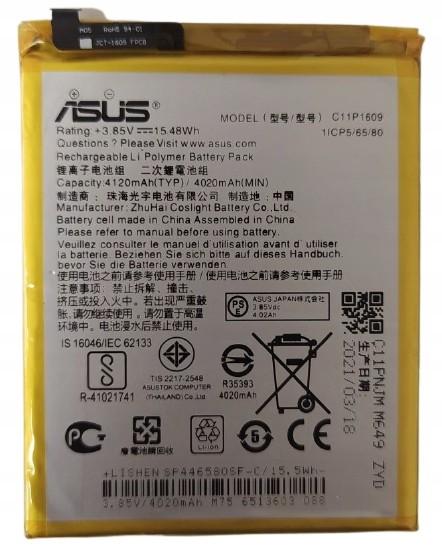 Asus Oryg Bateria C11P1609 Do Zenfone 3 / 4 Max