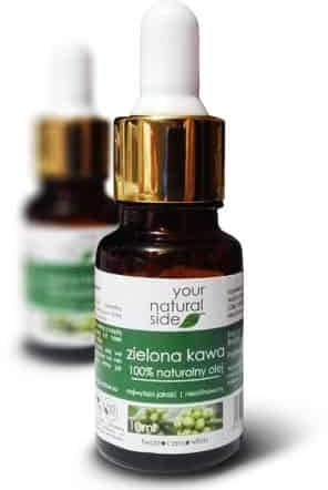 Your Natural Side Olej z Nasion Zielonej Kawy nierafinowany 10ml