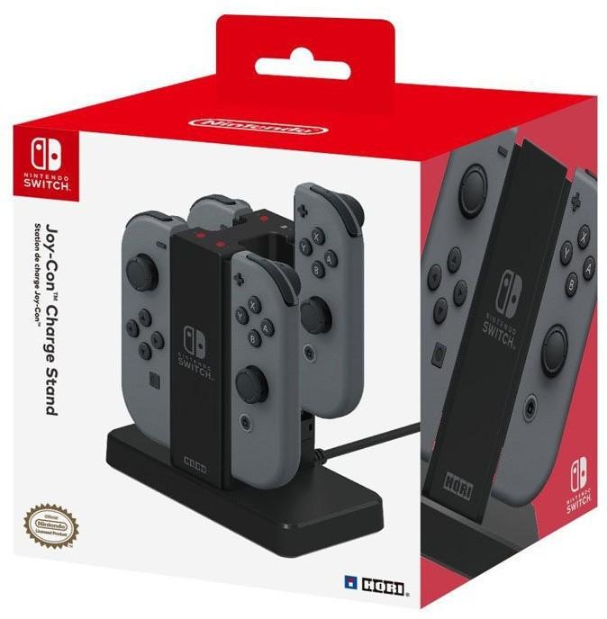 Ładowarka stacja dokująca) Hori do 4 Joy-Conów Charge Stand Nintendo Switch