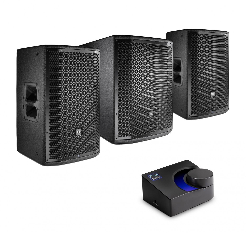 JBL 2x PRX812W + PRX818XLFW + MVBT - zestaw nagłośnieniowy z bluetooth