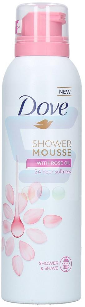 Dove Shower Mousse Pianka do mycia ciała Rose Oil 200 ml