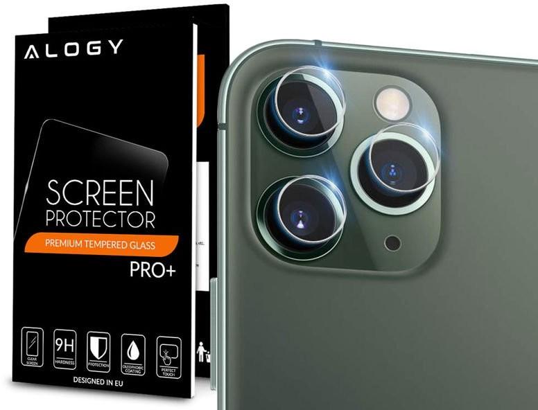 Alogy Szkło hartowane Alogy na tył obiektyw do Apple iPhone 11 Pro Max 7280X10