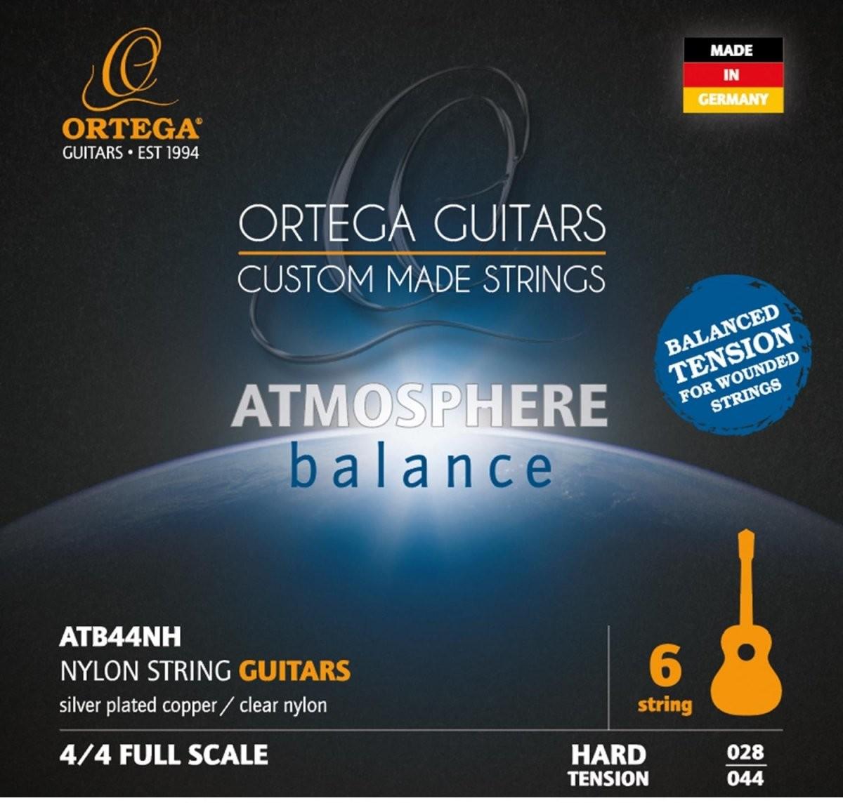 Ortega Ortega ATB44NH Hard Tension Balanced struny do gitary klasycznej