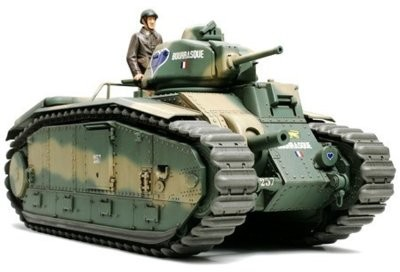 Tamiya FRENCH BATTLE TANK B1 BIS TA-35282