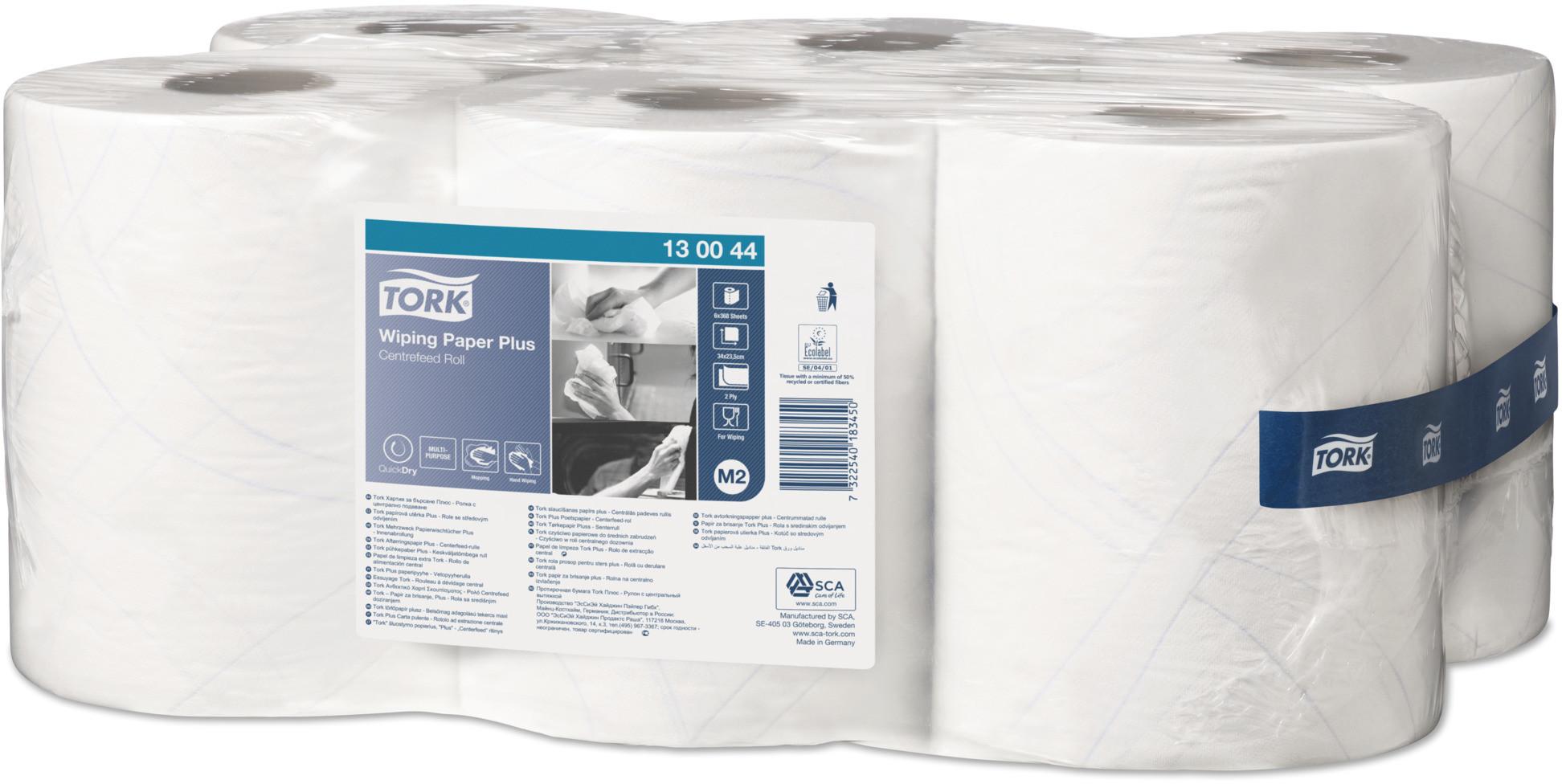 TORK czyściwo papierowe 130044 6 rolek