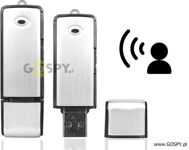 gospy.pl Dyktafon pendrive B200 4GB VOS (Detekcja Głosu) G-10577909