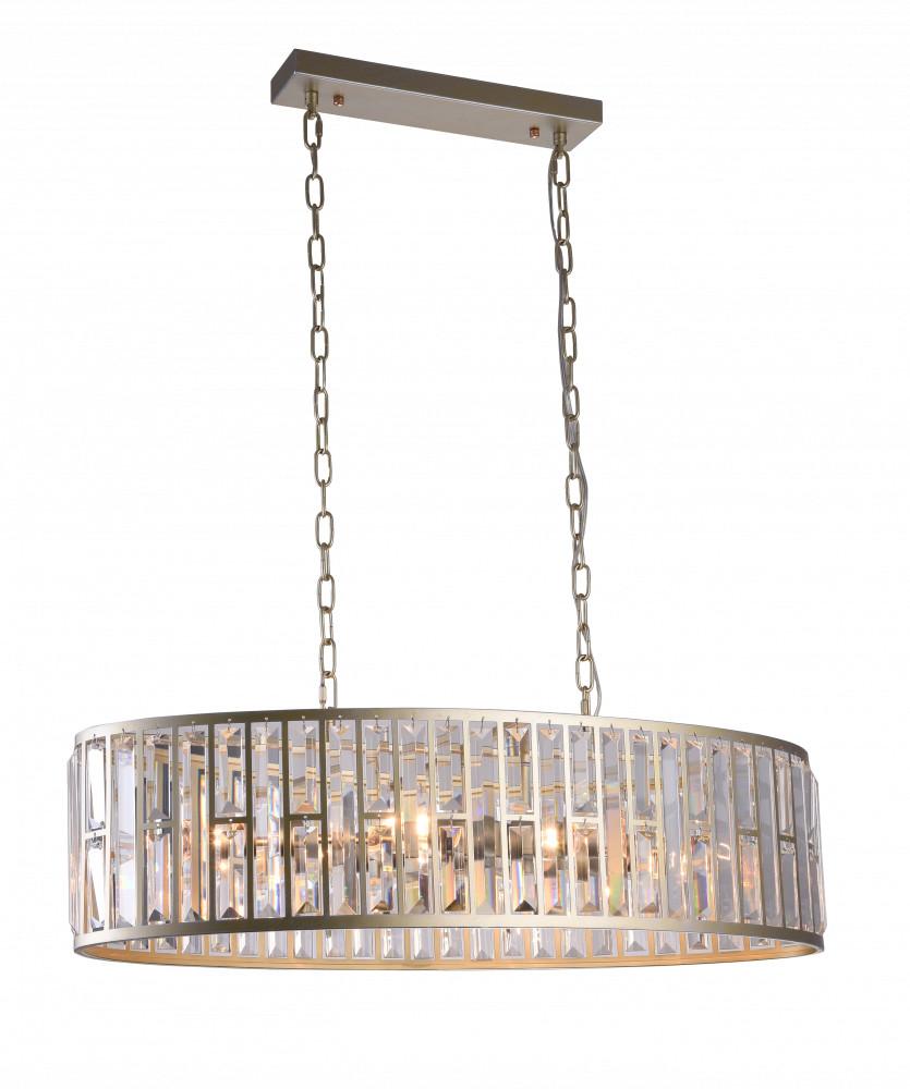 CosmoLight Lampa wisząca Moscow P06223CP luksusowa kryształowa oprawa wisząca P06223CP