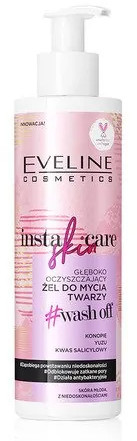 Eveline Insta Skin Care Oczyszczający żel do mycia twarzy 200ml 50183-uniw