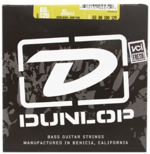 Dunlop DL STR DBS 060/120 Stainless Steel Extra Heavy Drop 38440602001