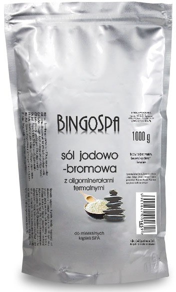 BingoSpa Sól jodowo-bromowa 1000g 1234593358